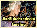 Jindøichohradecká èinohra - Andrea Èerná jako knìžna v Jiráskovì Lucernì