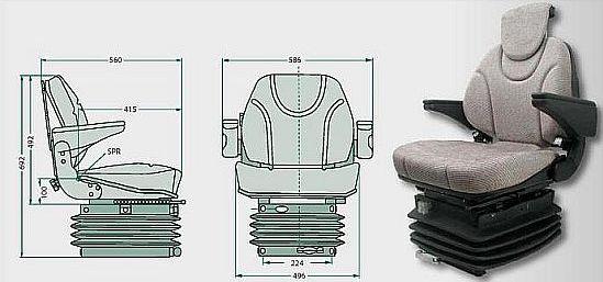 Traktorová sedačka