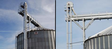 korečkový elevátor KBE Kongskilde