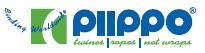 Logo firmy Piippo vyrábějící sítě na balení senáže