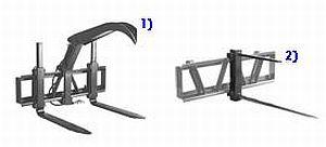Nářadí pro čelní nakladače Quicke - paletizační vidle - příslušenství