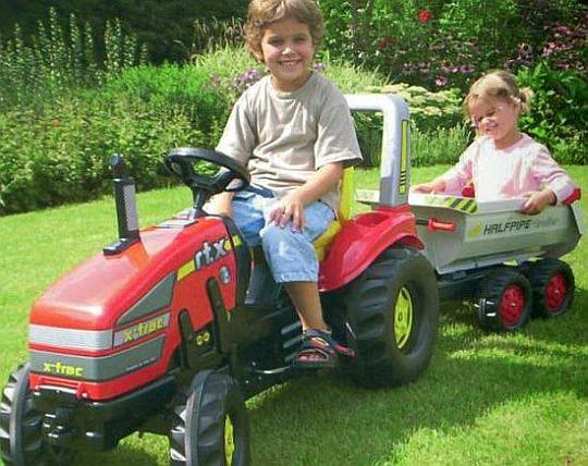 Rolly Toys - šlapací traktory