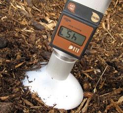Vlhkoměr pro měření vlhkosti dřevní štěpky Wile BIO