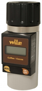 Vlhkoměr pro měření vlhkosti kávy a kakaových bobů Wile Coffee